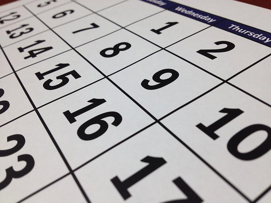 2020 Credit Union Holidays