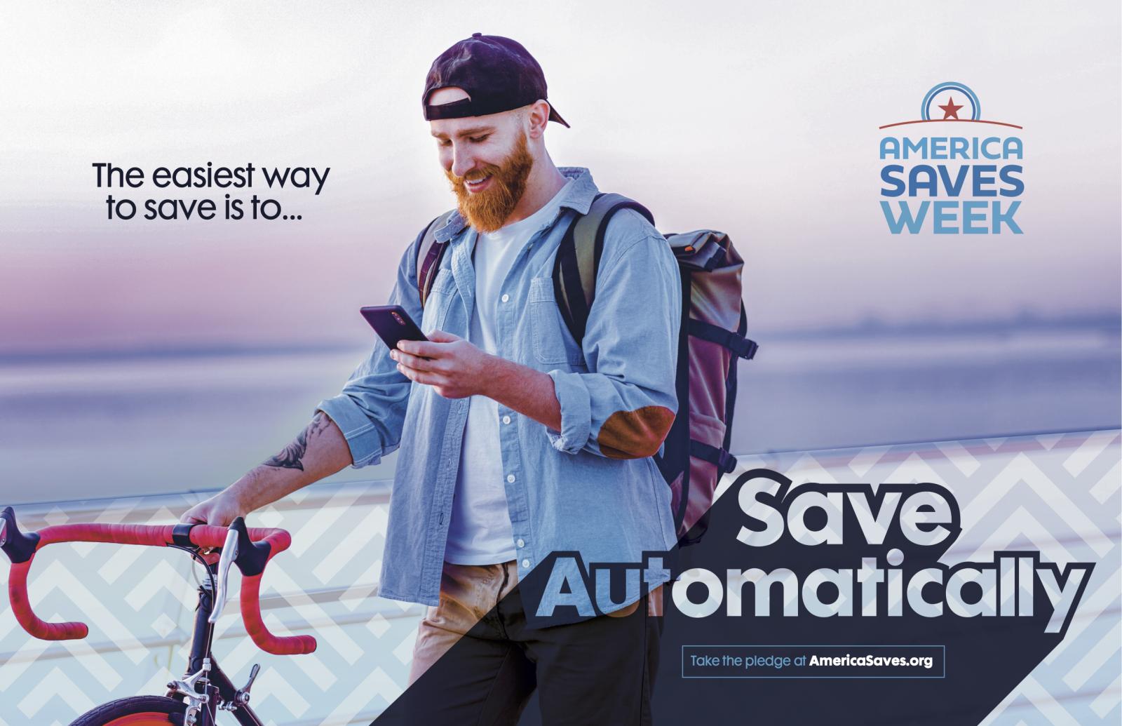 Save Automatically - America Saves Week 2021