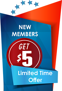 New Members Get $5 - Only At Lynch Rd. Branch!