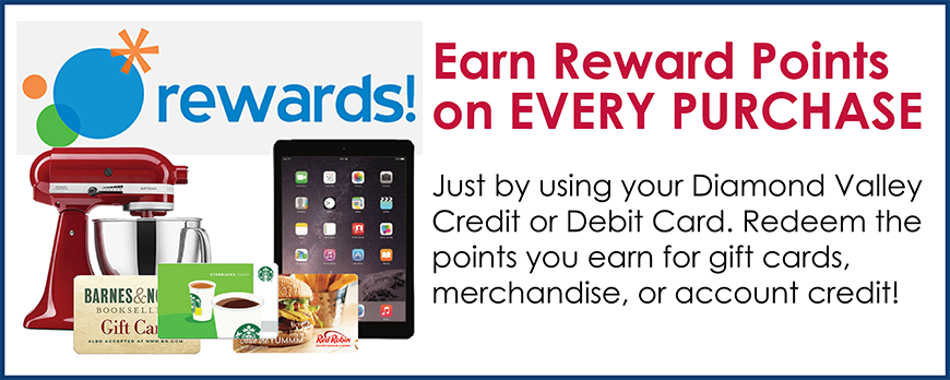 Diamond Rewards - Credit / Debit Rewards