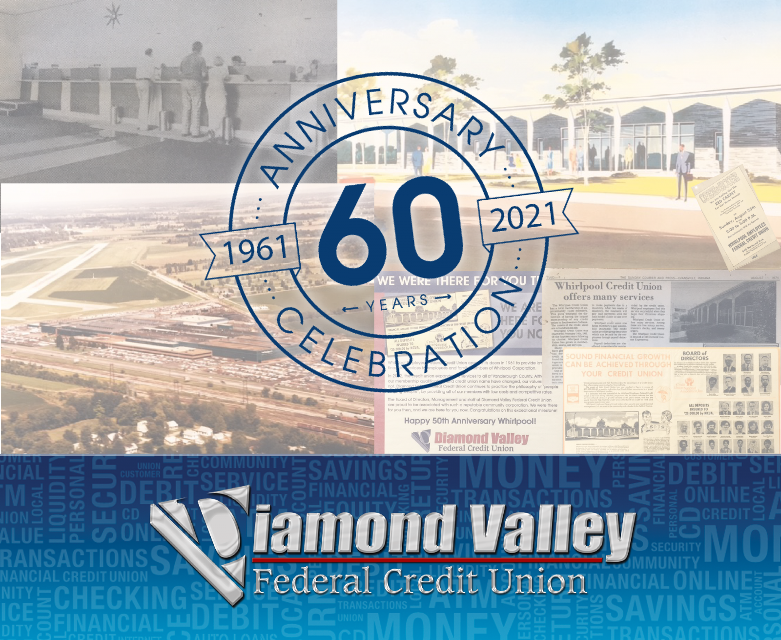 Diamond Valley Federal Credit Union Celebrates 60 Years!