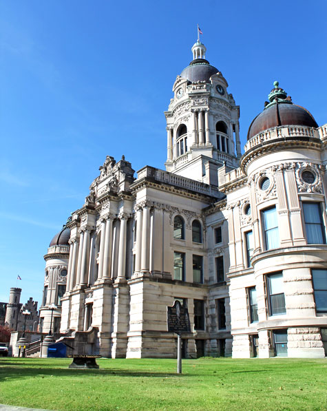 Old Vanderburgh County Courthouse