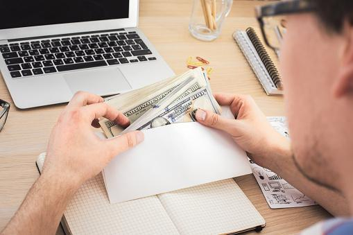 Money Envelopes are a low-tech way of helping you plan a budget