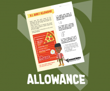 Allowance - Youth Credit Union Month - Activity Sheet