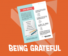 Being Grateful - Youth Credit Union Month - Activity Sheet